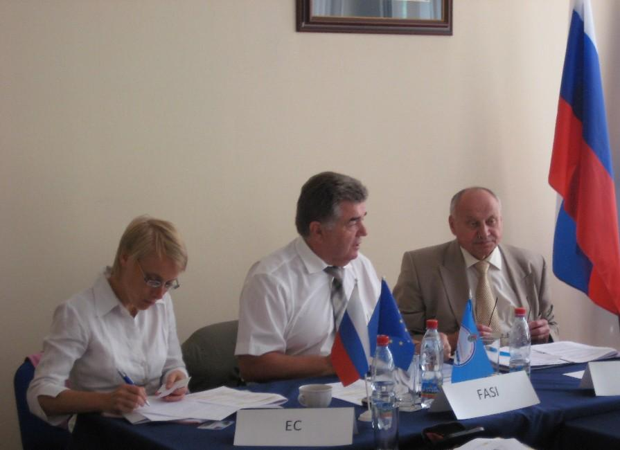 EC and FASI officers - EU Russia Cooperation - bioliquids application in CHP plants